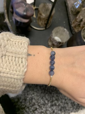 Armband blue - by Mickleit
